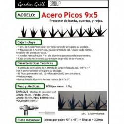 Acero Picos modelo 9x5